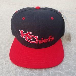 1990s Kansas City Chiefs Snapback Hat